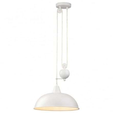 Modern White Dome Shade Ceiling Pendant Light Fitting