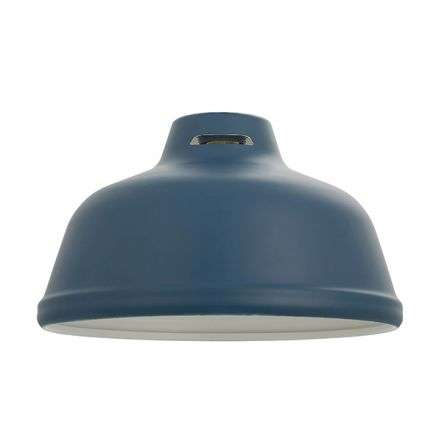 Mono Pendant Shade in Matt Ink Blue Finish