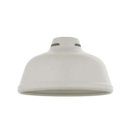 Mono Pendant Shade in Matt White Finish