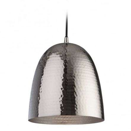 Moroccan Nickel Metal Pendant Light