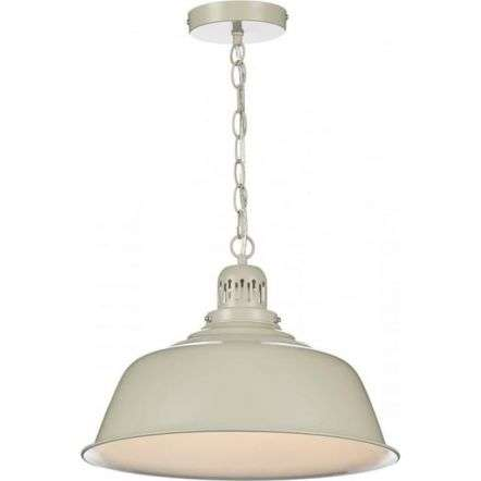Nantucket Single Pendant in Putty Finish