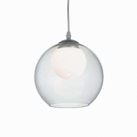 Nemo Clear 200mm Glass Globe Pendant