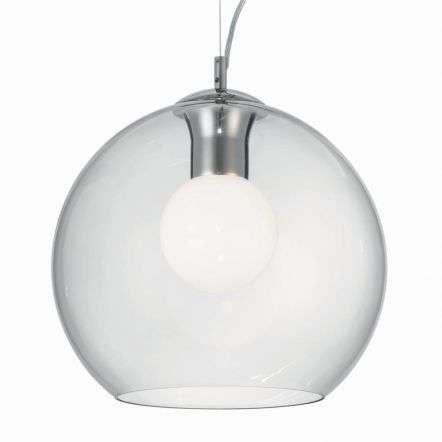 Nemo Clear 400mm Glass Globe Pendant