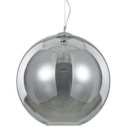 Nemo Fume 500mm Smoked Glass Globe Pendant