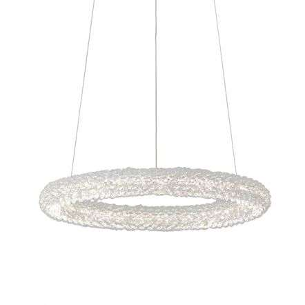 Neve Ring Crystal Chandelier Warm White