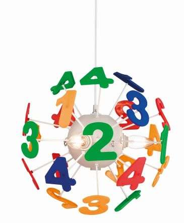 Numbers Ceiling Pendant