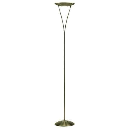 Opus Floor Lamp Antique Brass