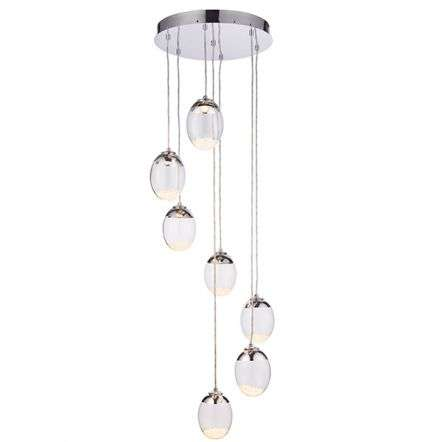 Oria 7 Light Pendant Warm White