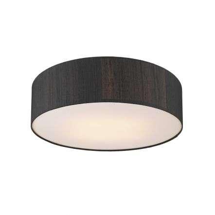 Paolo Bespoke 100% Silk 50cm 3 Light Flush