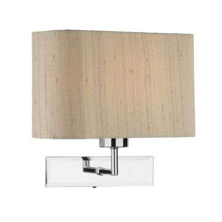 PIZA Wall Light Polished Chrome Shade Sold Separately