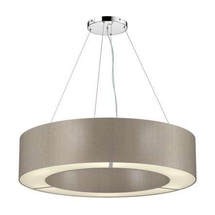 Polo Bespoke 50cm 4 Light Silk Shade Pendant