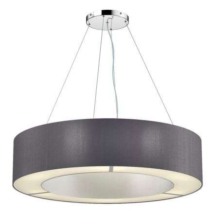 Polo Bespoke 85cm 6 Light Two Tone Shade Pendant