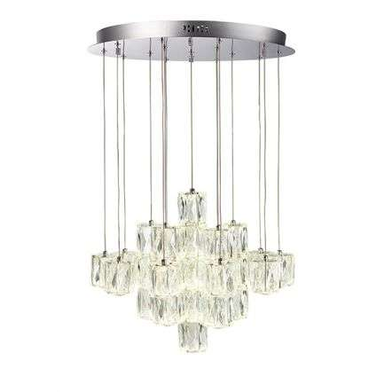 Prisma 30 Light Crystal Pendant Cool White