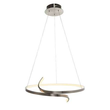 Rafe LED Pendant in Satin Nickel