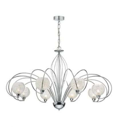 Rafferty 8 Light Pendant Dual Mount Polished Chrome
