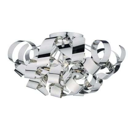 Rawley 5 Light G9 Flush Polished Chrome