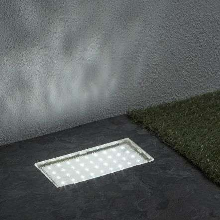 Rectangular LED Walkover Light