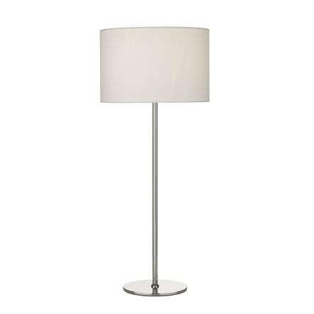 Rimini Table Lamp Satin Chrome Base Only