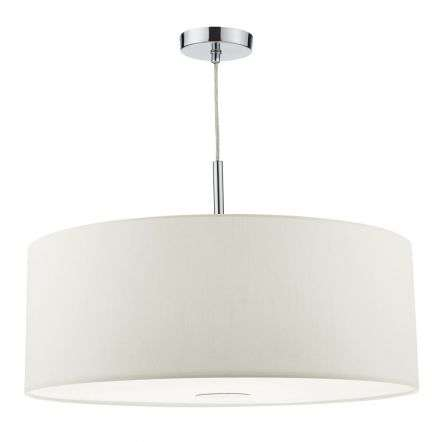 Ronda 3 Light Pendant 60cm White