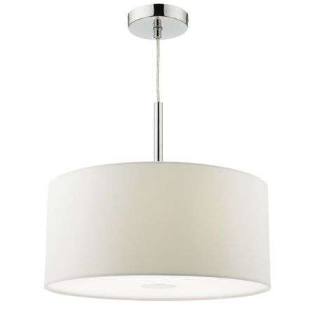 Ronda 40cm Easy Fit Pendant Porcelain White