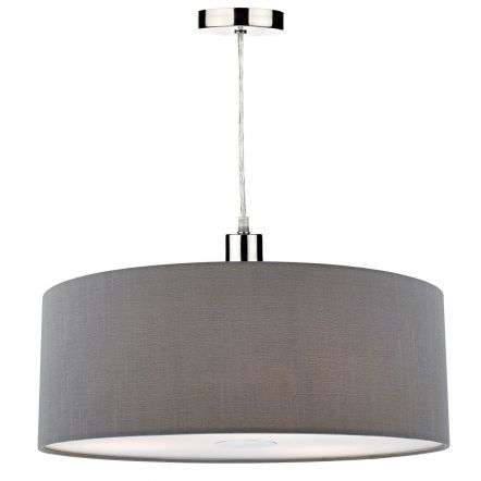 Ronda 60cm Easy Fit Pendant Slate Grey