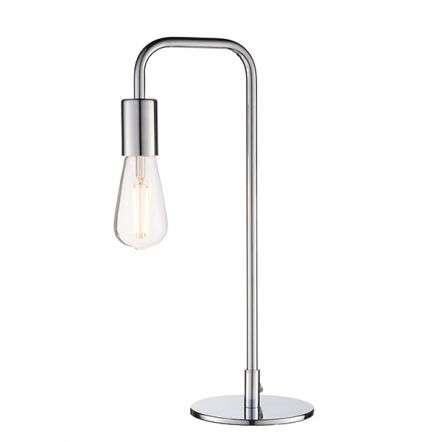 Rubens Table Lamp in Polished Chrome 40W SW