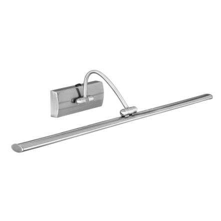 SATIN SILVER 51 LED PICTURE LIGHT WITH ADJUSTABLE HEAD