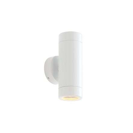 Saxby Lighting ST5008W Odyssey Up & Down Wall Light in Gloss White