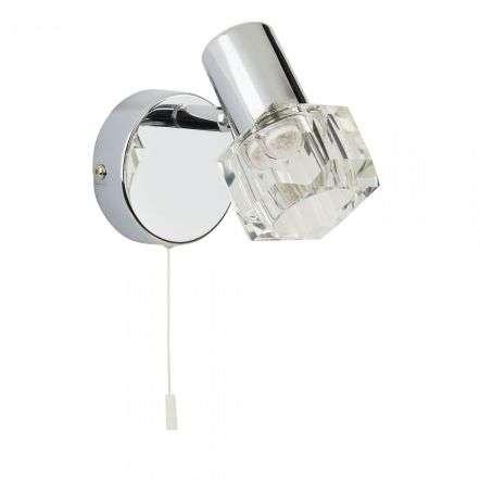 Searchlight 3761CC-LED Triton 4W LED Single Spotlight Wall Bracket Chrome