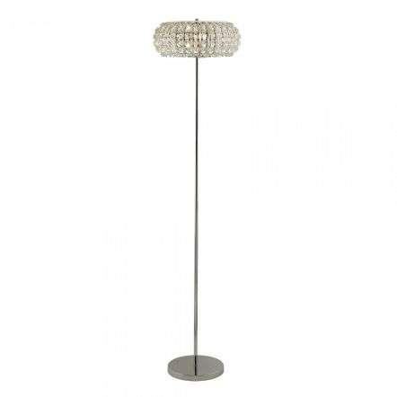 Searchlight 5819CC Marilyn 3 Light Chrome Floor Lamp