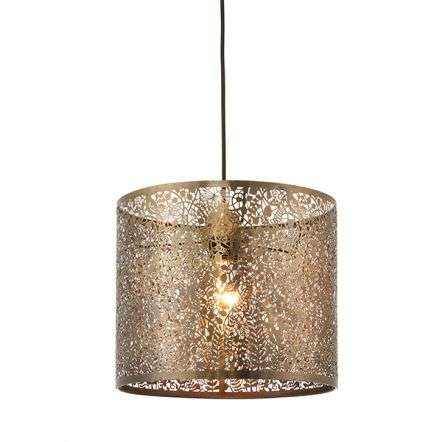Secret Garden Easyfit Pendant in Antique Brass Finish 300mm