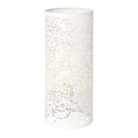 Secret Garden Table Lamp in Ivory Finish