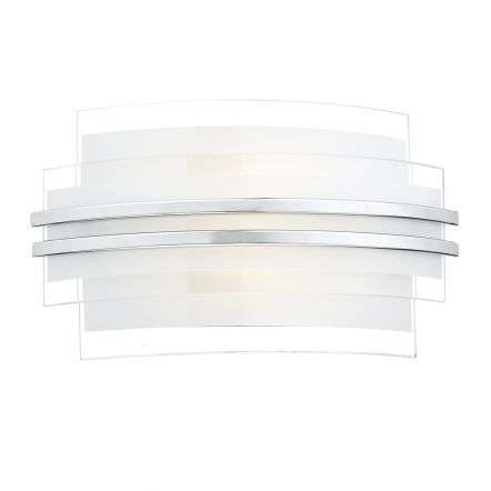 Sector Double Trim Led Wall Bracket Small