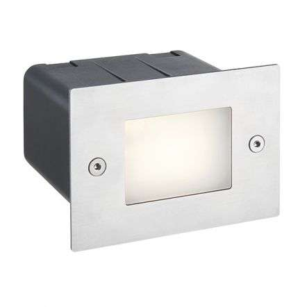 Seina Half Brick Light IP44 2W Daylight White