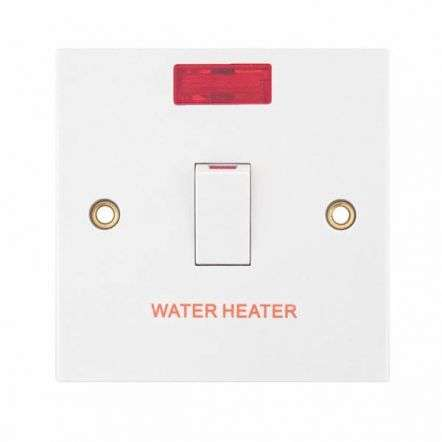Selectric 20 Amp DP Switch with Neon �WATER HEATER�