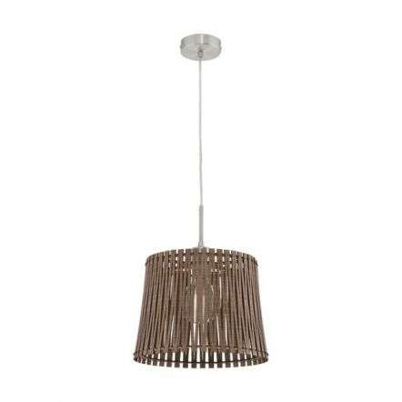 Sendero Ceiling pendant in Satin Nickel