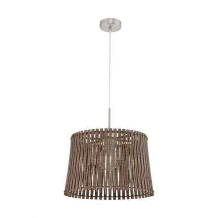 Sendero Ceiling pendant in Satin Nickel Dia:380mm