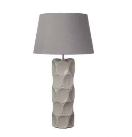 Sintra Table Lamp Taupe Ceramic Base Only