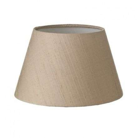 Sloane Table Lamp Silk Shade Taupe