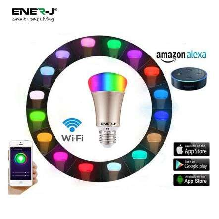 Smart LED Light Bulb Works with Amazon Alexa Echo 6W E27