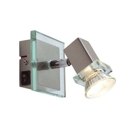 Spirit Single Wall Bracket Satin Chrome