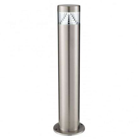 StainlessSteel 30Led Outdoor Post Light With Clear Diffuser IP44