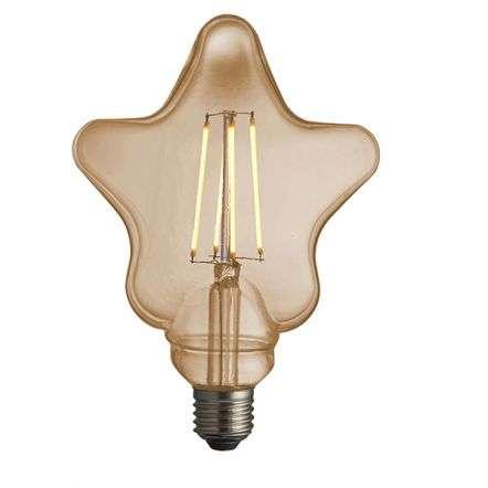 Star E27 LED Filament Bulb