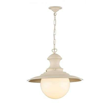 Station Cotswold Cream Large Pendant