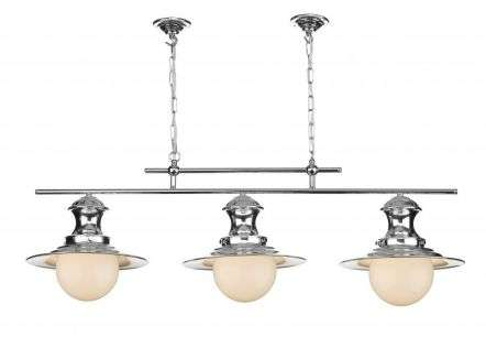 Station Lamp 3-Light Polished Chrome Fitting