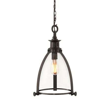 Storni Pendant 290mm Diameter in Bronze Finish