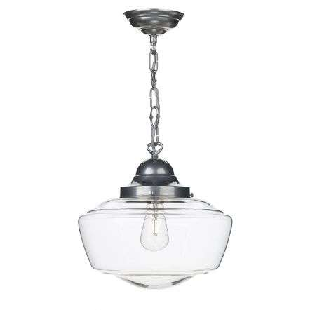 Stowe 1 Light Pendant in Satin Chrome