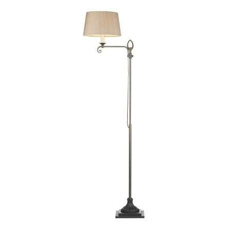 Stratford Floor Lamp Aged Brass Base Only