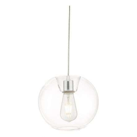 Subata Easy Fit Pendant Clear Glass
