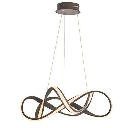 Synergy 44W LED Pendant in Coffee Sand Finish Dia630mm